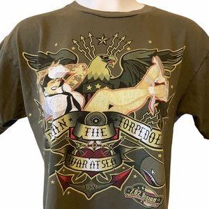 7.62 design US NAVY shirt damn the torpedoes